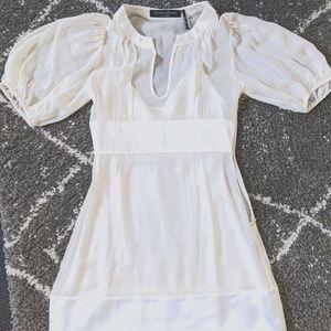 Marciano chiffon mini dress with slip- XS- EUC